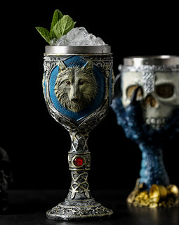 Horrible Stainless Steel Skull Goblet Retro