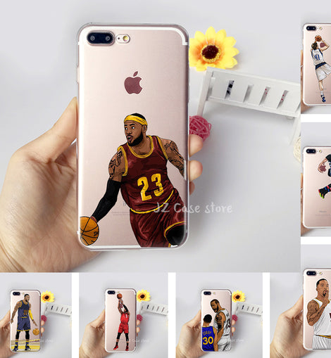 Jordan Curry James Kevin Durant Kobe Basketball Case for iphone 6 7 6s 8 plus X 5s 5 se