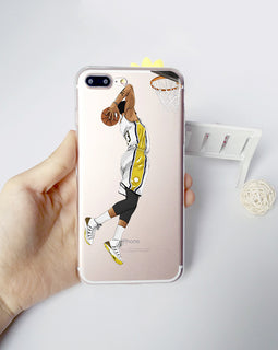 Basketball Star James Curry Harden Kyrie irving for iphone 7 8 6 6S PLUS X 10 5S SE