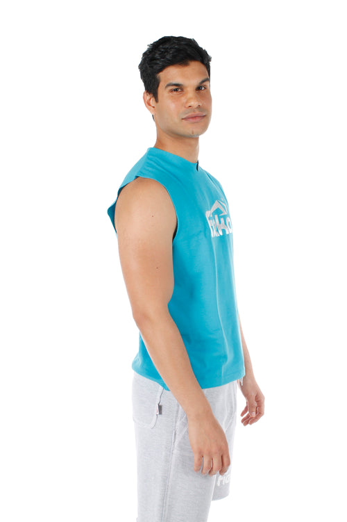 FIEKA Mens High Neck Training Vest
