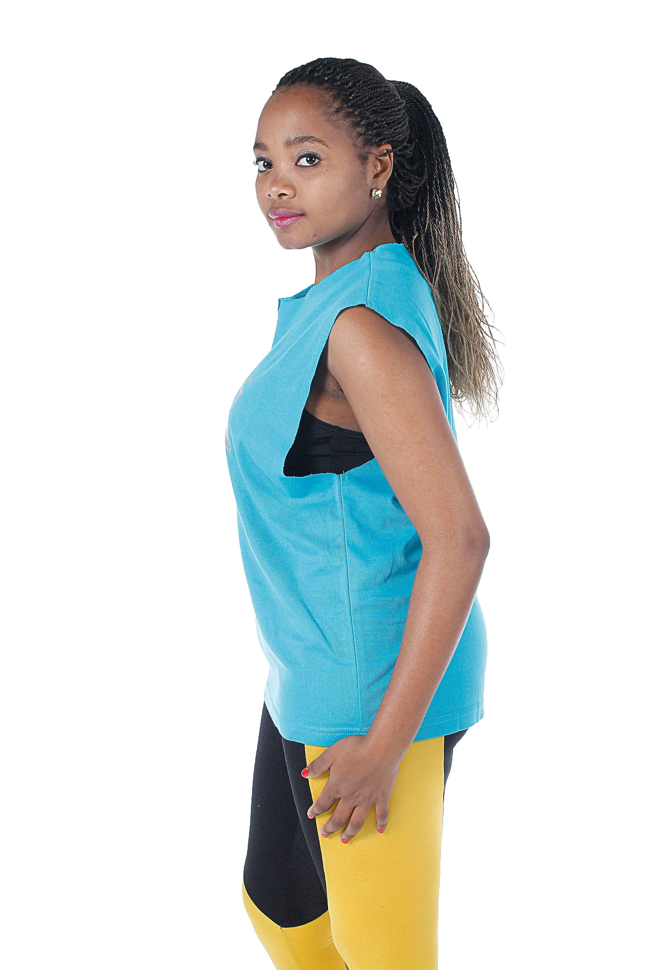 FIEKA Ladies High Neck Training Vest