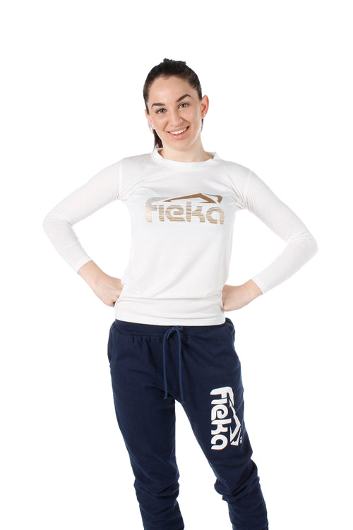 FIEKA Ladies Crew Neck Pullover