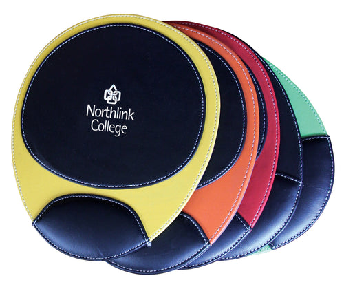 Oval Koskin Mousepad with Wrist Guard