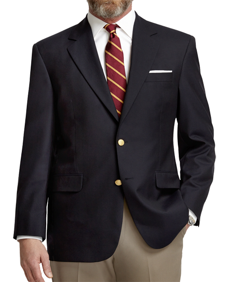 Men's Classic Two-Button Blazer