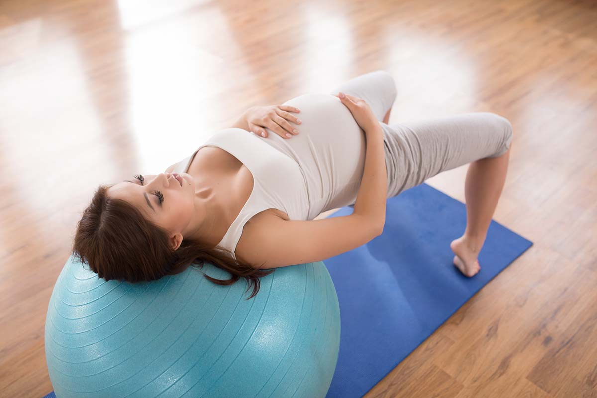 9 Easy Pregnancy Ball Exercises You Need To Know Babygo