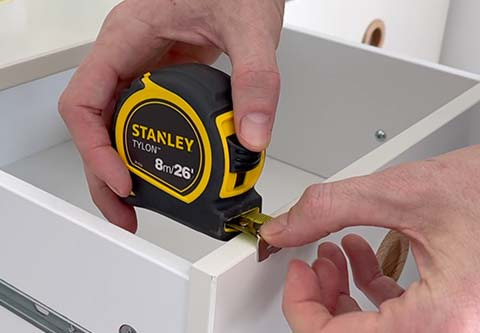 Measure the Drawer Front