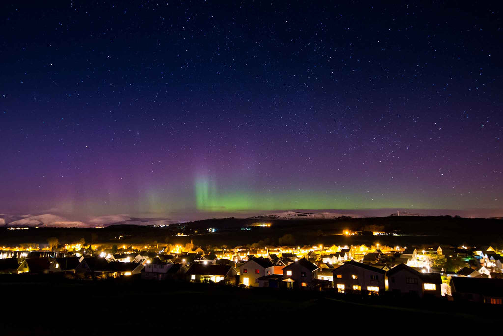 babymoon uk destination northern lights scotland