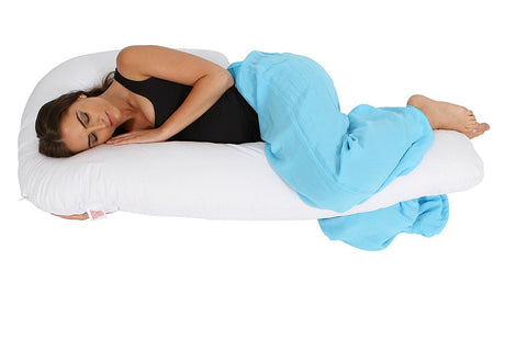 Using J Shaped Pregnancy Pillow