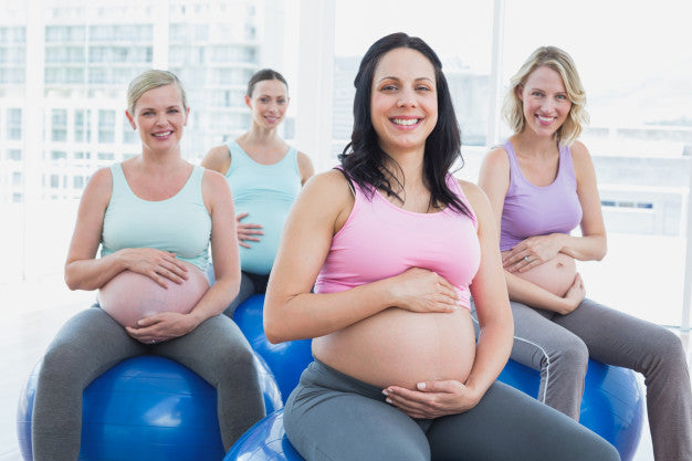 Pregnancy Ball Excercise Class