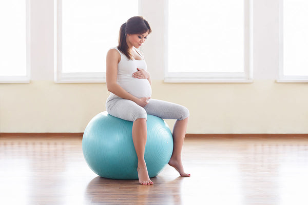 prepare for a vbac using a birthing ball
