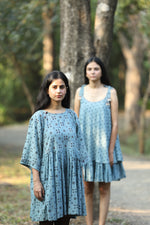 Ajrakh Boxy Dress - YESHA SANT
