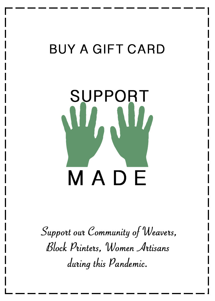 Support our Artisans with a Gift Card - YESHA SANT