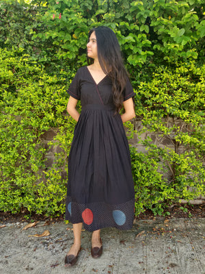 Ajrakh Fit & Flare Dress - YESHA SANT