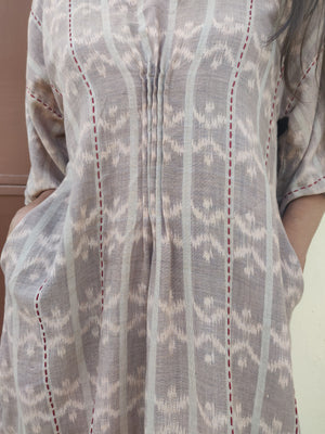Ikat Kaftan Dress - YESHA SANT