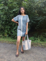 Zero waste Fringe Dress - YESHA SANT