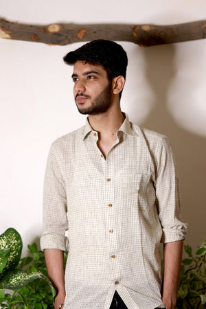 Eco Checks Shirt - YESHA SANT