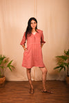 Khadi Pink Lil Dress