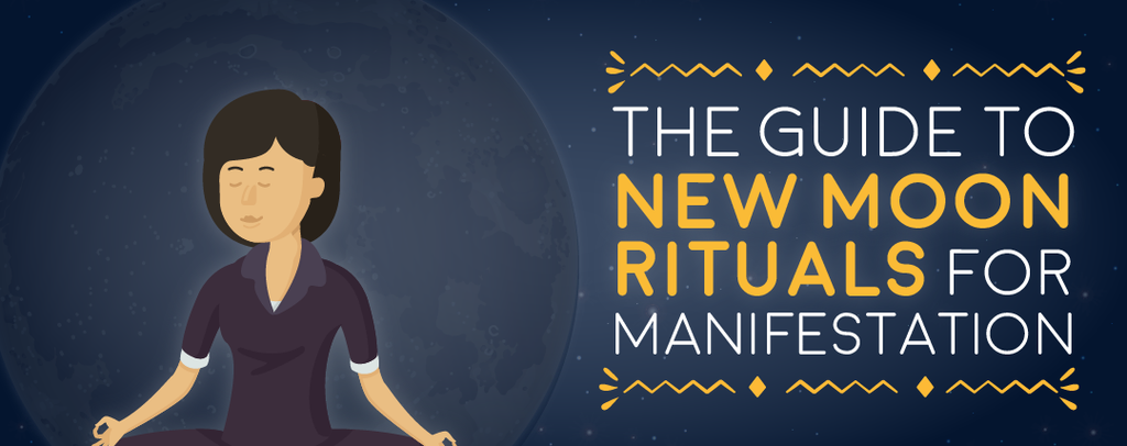 The Guide to New Moon Rituals For Manifestation