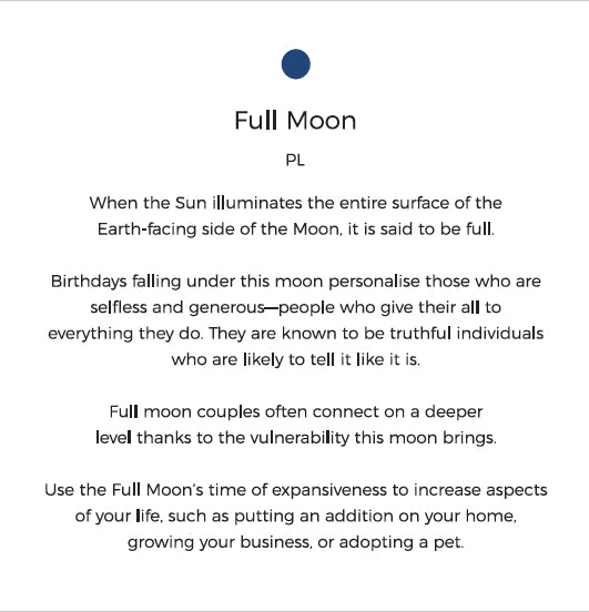 Full Moon Personality