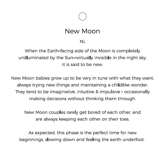 New Moon Personality