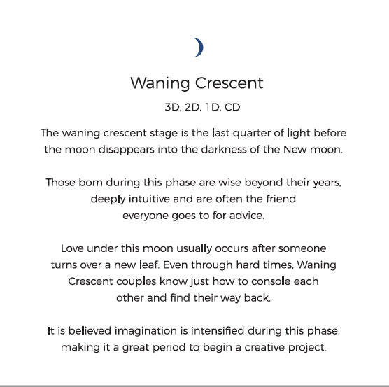 Waning Crescent Personality