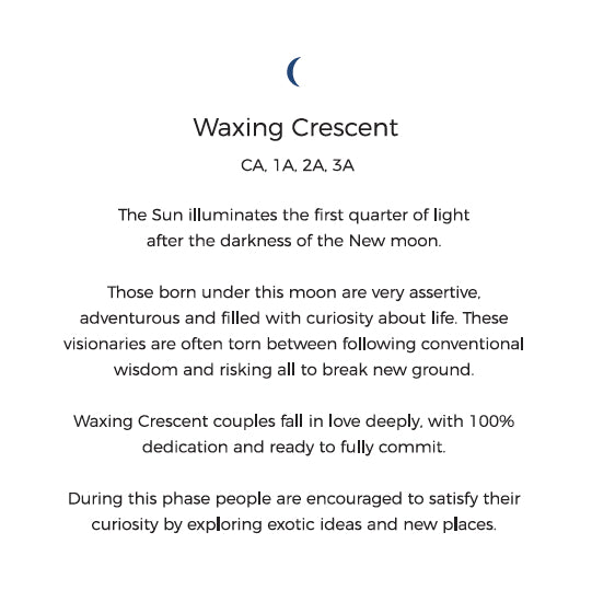Waxing Crescent Personality