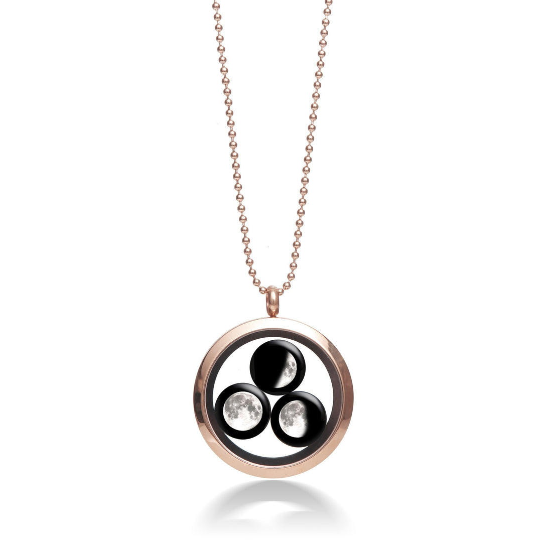 Family Locket in Rose Gold-1