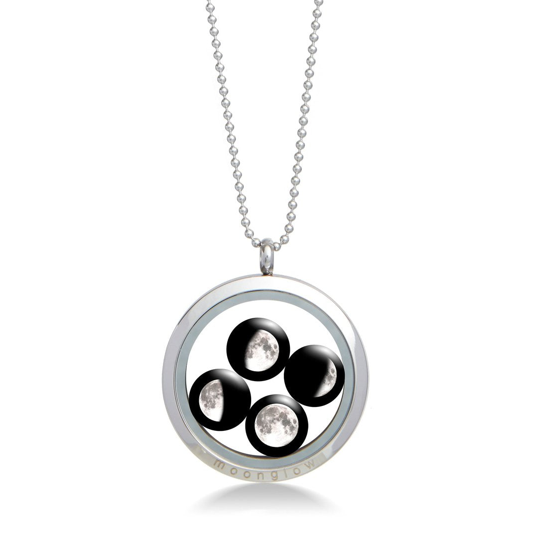 Large Family Locket in Stainless steel-1