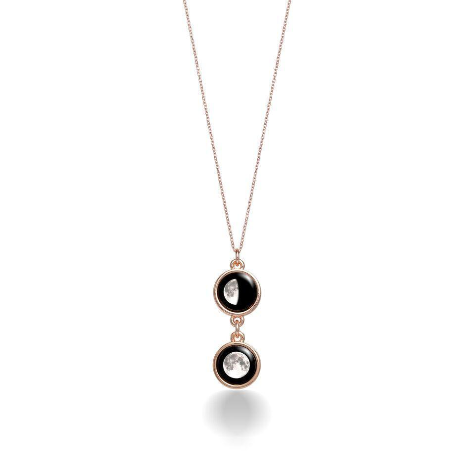 Mini Ituri Necklace in Rose Gold