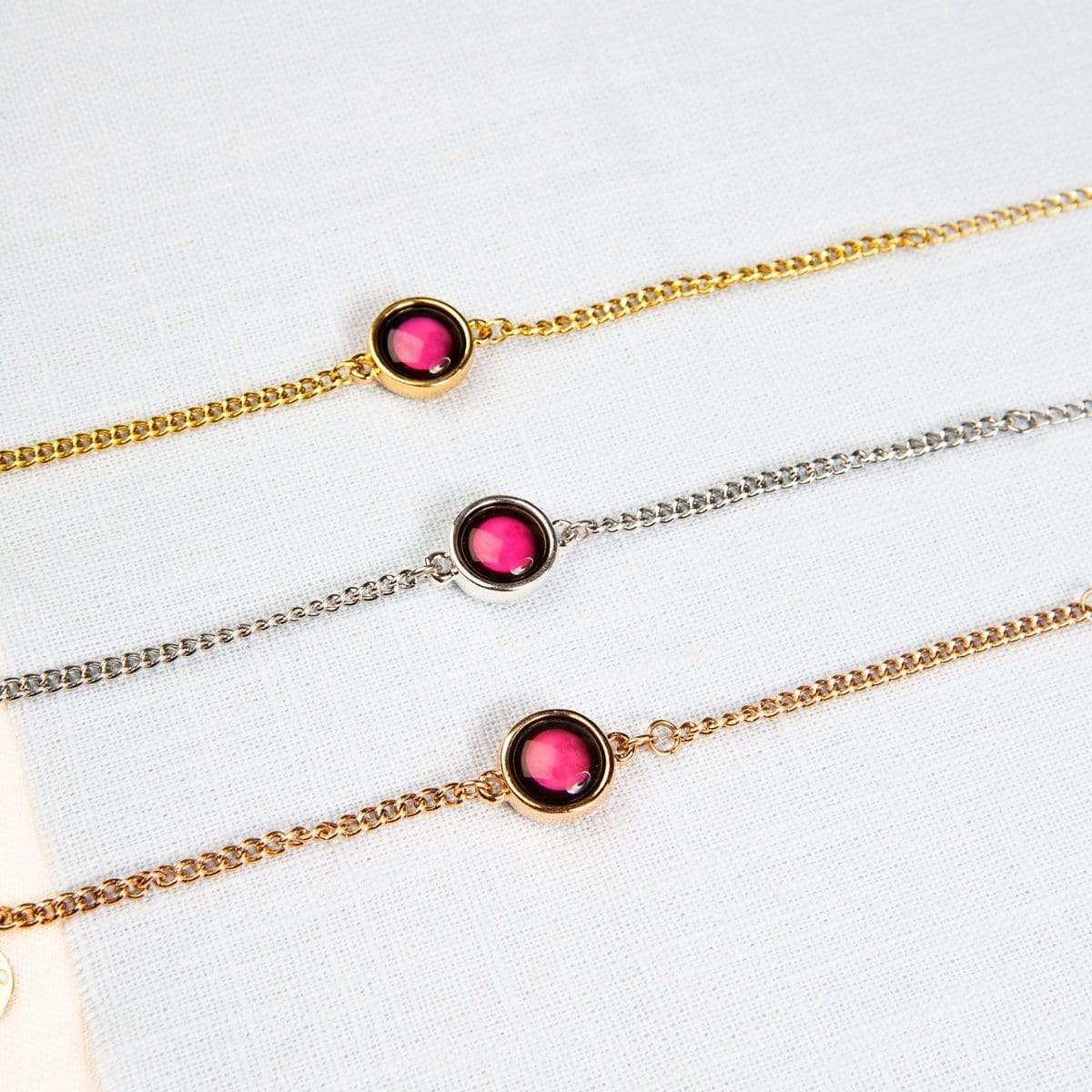 Pink Moon Pallene Bracelet in Gold