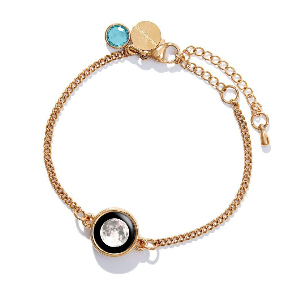 Birthstone Pallene Bracelet in Gold-3