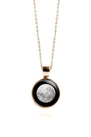 Meteor Necklace in Yellow Gold