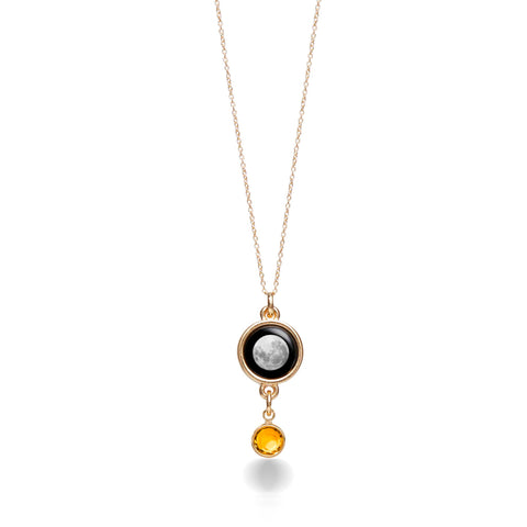 The Birthstone Satellite in Yellow Gold