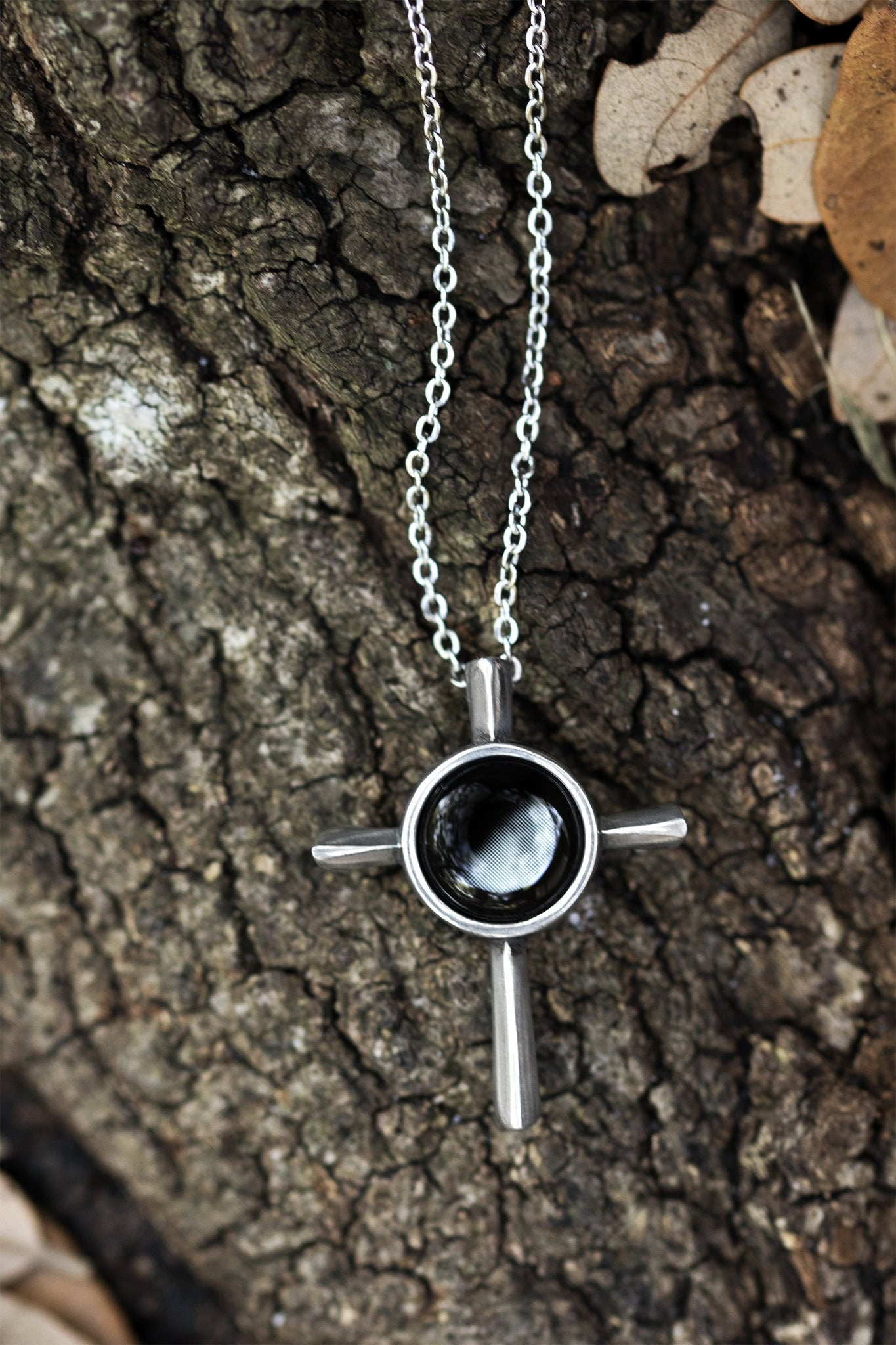 Skinny Cross Necklace