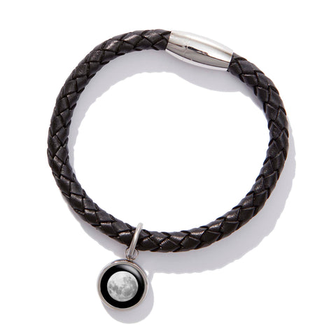 Walk on the Moon Bracelet in Black