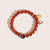 Pink Moon Brilliant Blush Jade Bracelet in Gold