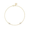 Diamond Bracelet 0.10 ct Yellow Gold