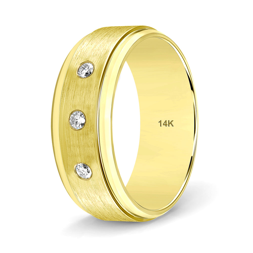Diamond Weddings Bands for Men and Women