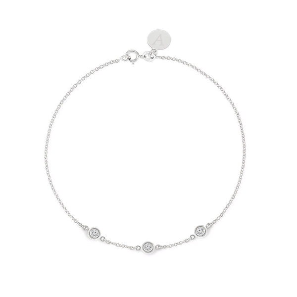TousiAttar  Diamond Bracelet 0.15ct White Gold