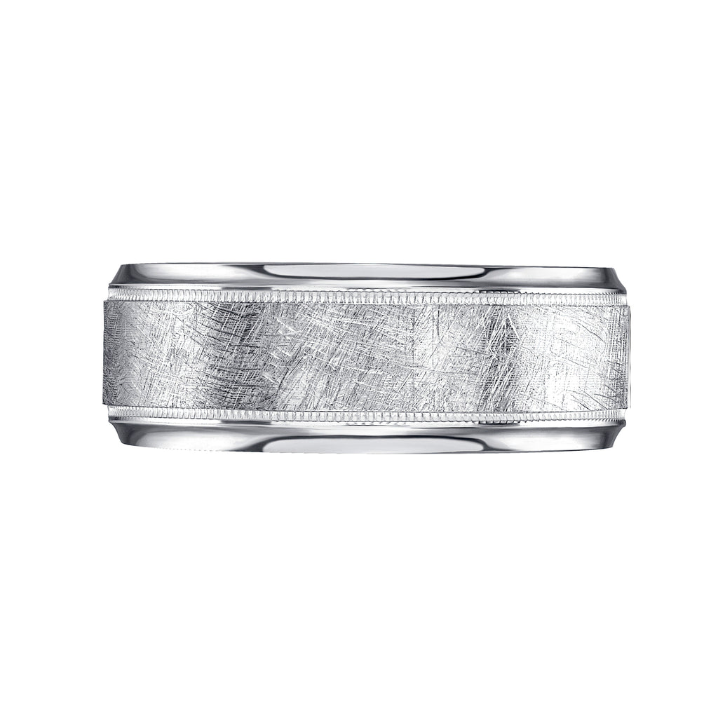 Wedding Bands for Women ICE Finish Design