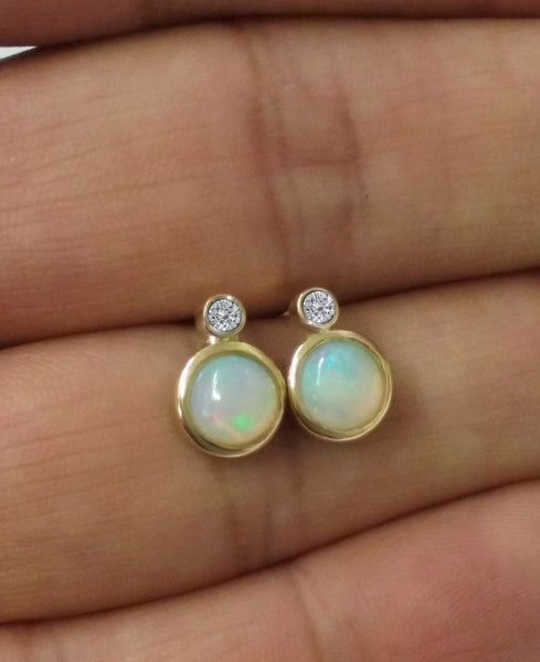 TousiAttar Opal Stone Earrings