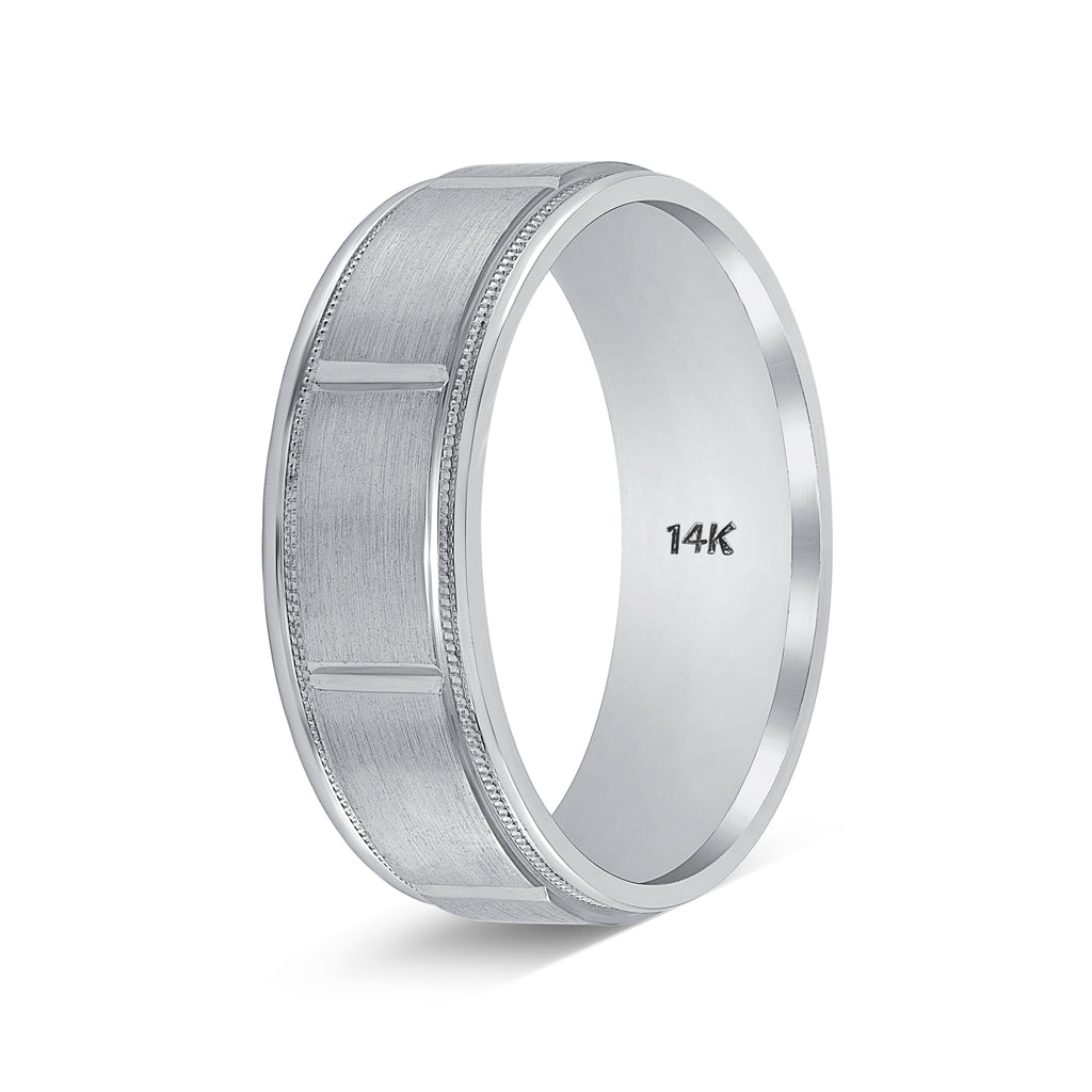 Weddings Bands for Him and Her Diamond Cut