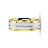 Wedding Band 18k or 14k Handmade Gold Stone Finish