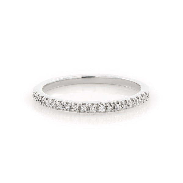 TousiAttar Half Diamond Eternity Band