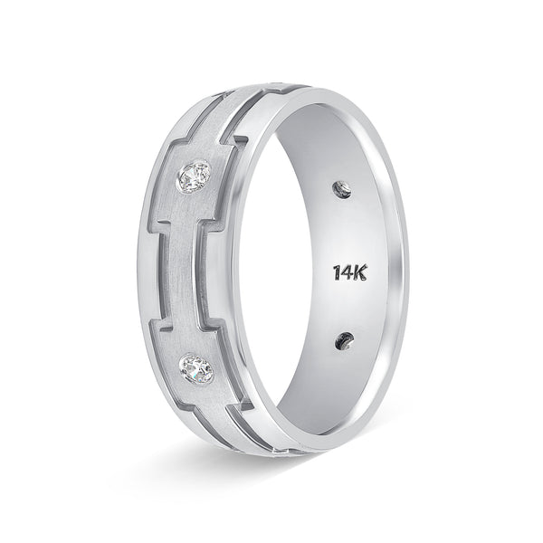 Diamond Weddings Bands for Men and Women Nice Gift