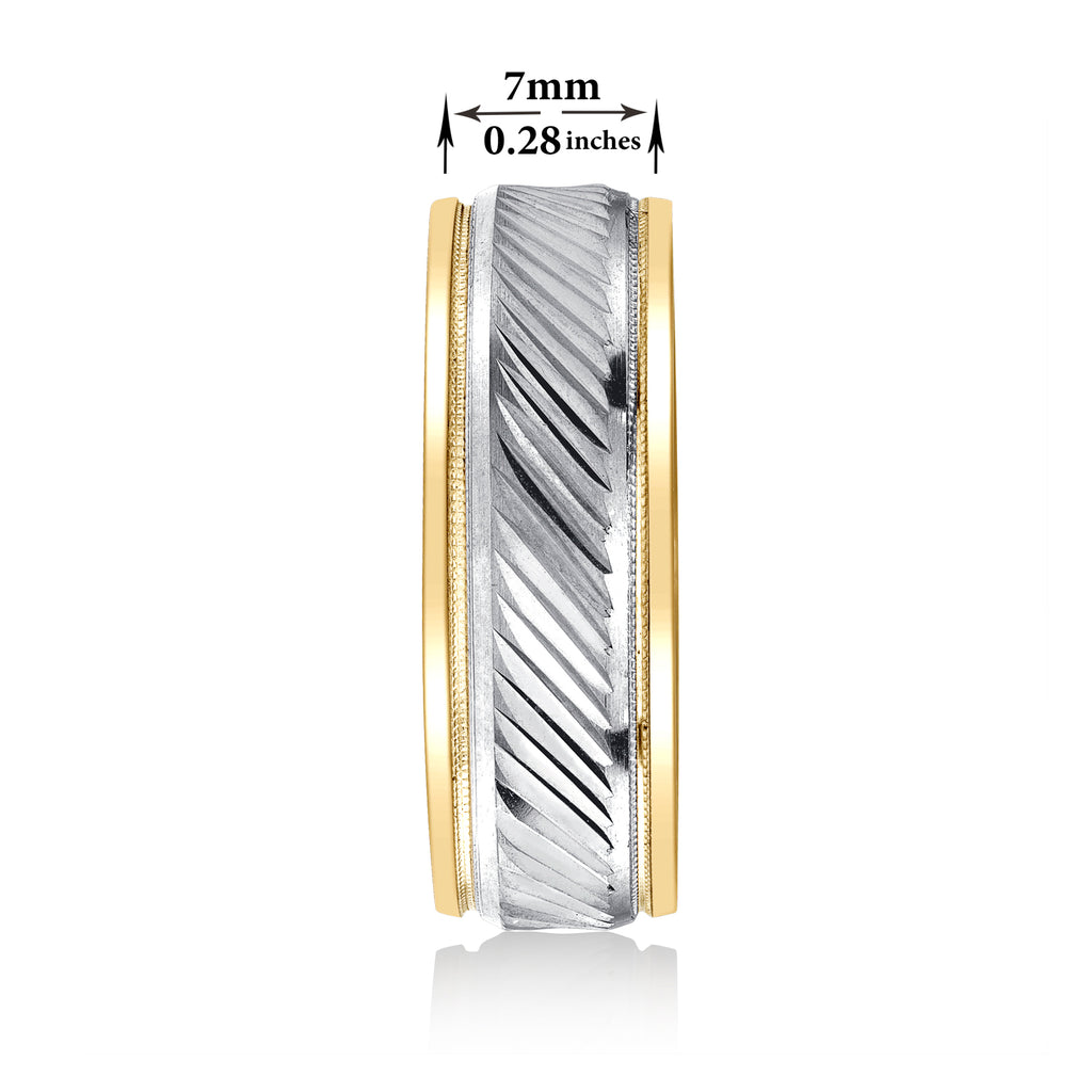 18k wedding band