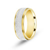 Two Tone Wedding Sets Handmade Gold Stone Finish