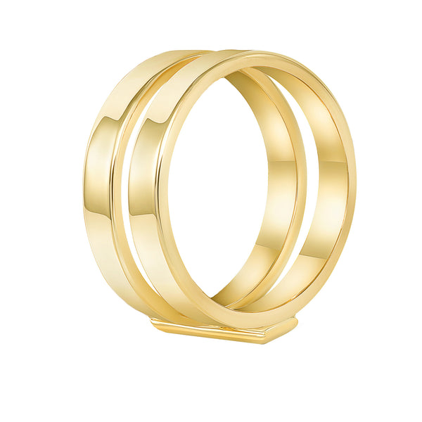 TousiAttar Double Ring