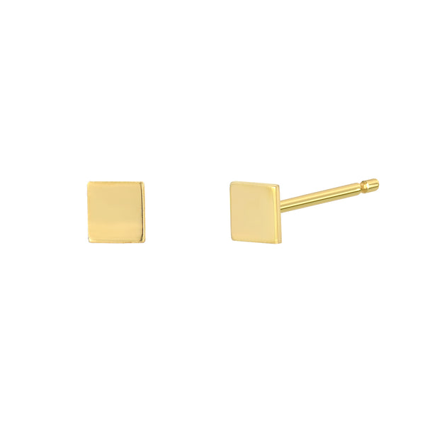 TousiAttar Square Stud Earrings Minimalist
