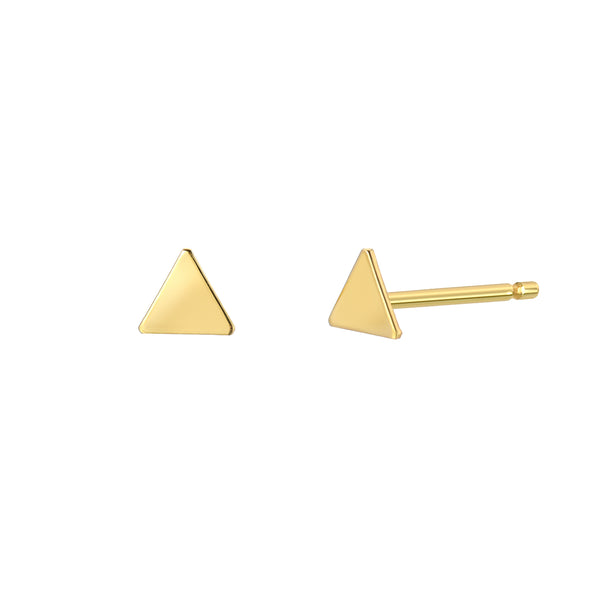 TousiAttar Triangle Stud Earrings